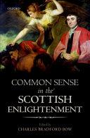 Common Sense in the Scottish Enlightenment [Pdf/ePub] eBook