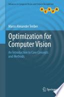 Optimization for Computer Vision