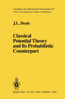 Pdf Classical Potential Theory and Its Probabilistic Counterpart Telecharger