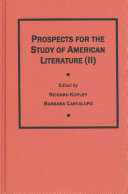 Prospects for the Study of American Literature  II