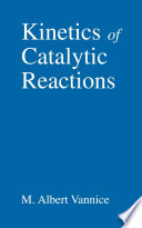 Kinetics of Catalytic Reactions Book