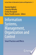 Information Systems, Management, Organization and Control