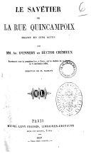 Le savetier de la rue Quincampoix drame en cinq actes par MM. Ad. D'Ennery et Hector Cremieux