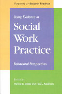 Using Evidence in Social Work Practice Book