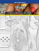 Briard Coloring Book Book