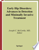 Early Hip Disorders Book