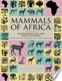 Mammals Of Africa Volume Vi