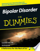 Bipolar Disorder For Dummies Book PDF