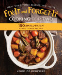 Fix-It and Forget-It Cooking for Two Pdf/ePub eBook
