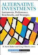 Alternative Investments Book