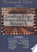 Leading Edge Semiconductor Research Book PDF