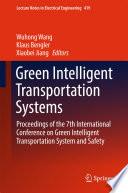 Green Intelligent Transportation Systems Book PDF