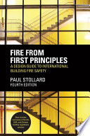 Fire from First Principles  : A Design Guide to International Building Fire Safety