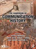 The Handbook of Communication History Pdf/ePub eBook