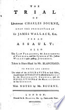 The Trial of Lieutenant Charles Bourne
