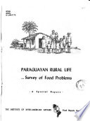 Paraguan Rural Life, Survey of Food Problems