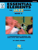 Essential Elements for Jazz Ensemble Book 2   BB Trumpet