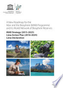 A New roadmap for the Man and the Biosphere (MAB) Programme and its World Network of Biosphere Reserves