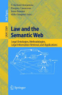 Law and the Semantic Web