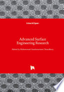 Advanced Surface Engineering Research Book PDF