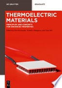 Thermoelectric Materials