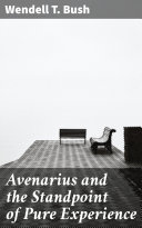 Avenarius and the Standpoint of Pure Experience Pdf/ePub eBook
