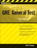 CliffsNotes GRE General Test