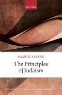 The Principles of Judaism
