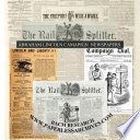 Abraham Lincoln Campaign Newspapers 1860   1864
