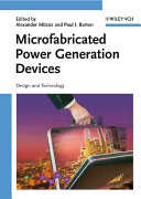 Microfabricated Power Generation Devices