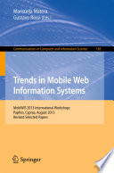 Mobile Web Information Systems Book