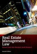 Real Estate Management Law