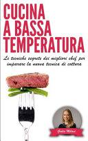 Cucina a Bassa Temperatura