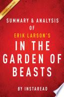 In the Garden of Beasts  by Erik Larson   Summary   Analysis Book PDF