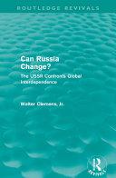 Can Russia Change? (Routledge Revivals) Pdf/ePub eBook