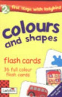 Colours and Shapes Flash Cards Book