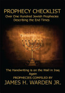 Prophecy Checklist over One Hundred Bible Prophecies Counting Down to the Second Coming of Jesus Christ Pdf/ePub eBook