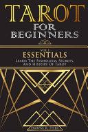 Tarot for Beginners   Essentials
