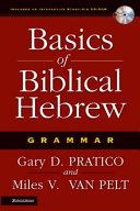Basics Of Biblical Hebrew Grammar Book PDF