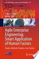 Agile Enterprise Engineering  Smart Application of Human Factors