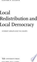 Local Redistribution And Local Democracy