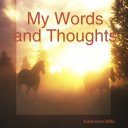 My Words and Thoughts ebook