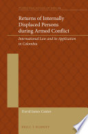 Returns Of Internally Displaced Persons In Armed Conflict