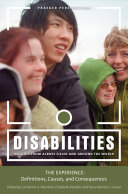 Disabilities  Insights from across Fields and around the World  3 volumes
