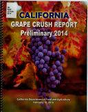 Preliminary Grape Crush Report ... Crop
