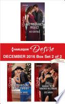Harlequin Desire December 2016 Box Set 2 Of 2