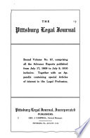 Pittsburgh Legal Journal