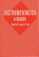 Instrumentation: A Reader [Pdf/ePub] eBook