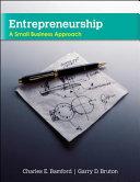 Entrepreneurship  A Small Business Approach