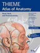 Head  Neck  and Neuroanatomy  THIEME Atlas of Anatomy  Book